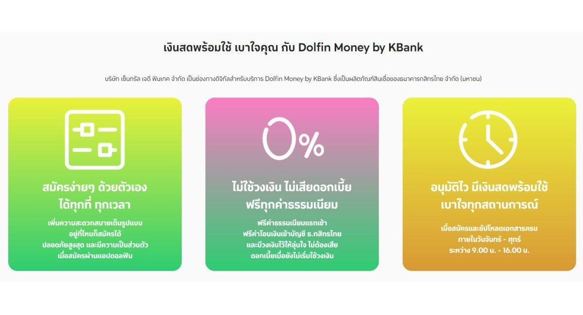 แอพยืมเงิน-ดอลฟิน-มันนี่-Dolfin-Money-by-KBank